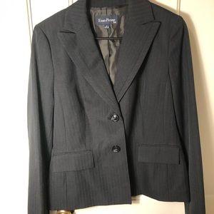Evan-Picone Blazer Blue Pinstripe Size 6